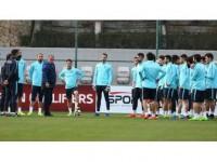 A Milli Takım, Finlandiya Maçı Hazırlıklarını Sürdürdü