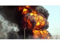 Ukrayna'da Cephanelikte Patlama