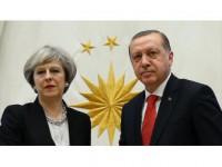 Erdoğan, May'e Taziyelerini İletti