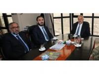 İl Müftüsü Karabayır'dan Başkan Sazlı'ya Ziyaret