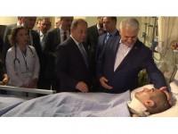 Başbakan Yıldırım'dan Isparta Şehir Hastanesi'ne Ziyaret