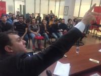 İha Bölge Müdürü Altıkardeş, Genç Gazetecilere Tecrübelerini Anlattı...