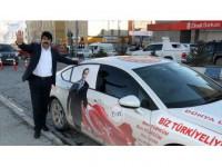 Cumhurbaşkanı Erdoğan'a Destek İçin Yola Çıkan Özavcı Hakkari'de