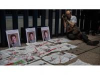 Meksika'da Gazetecinin Öldürülmesi Protesto Edildi