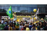 Brezilya'da Yolsuzluklar Yüzlerce Kişi Tarafından Protesto Edildi