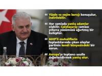 Başbakan Yıldırım'dan Seçim Barajı Açıklaması