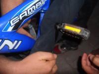 Ayağı Bisiklete Sıkışan Çocuğu İtfaiye Kurtardı