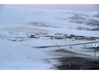 Ardahan'da Ulaşıma Kar Ve Tipi Engeli