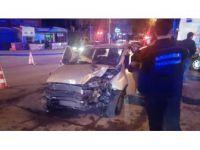 Ankara, Ragıp Tüzün Caddesi'nde Trafik Kazası