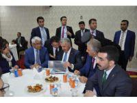 Bakan Ahmet Arslan, Stk'larla Bir Araya Geldi