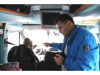 Sivil Polisten Otobüste Gizli Denetim