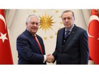 Erdoğan İle Tillerson Terörle Mücadeleyi Görüştü