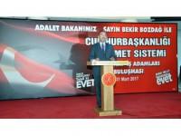 Adalet Bakanı Bozdağ: 10 Civarında Terör Örgütüyle Mücadele Eden Yegane Ülke Türkiye'dir