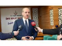 Başbakan Yardımcısı Kurtulmuş: Kimyasal Silahların Kullanılması Kabul Edilmez