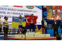 Erdoğan'dan Altın Madalya Kazanan Levent'e Kutlama
