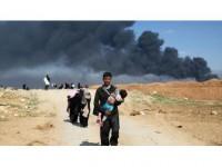 Musul'da Yerlerinden Edilen Kişi Sayısı Yarım Milyona Yaklaştı