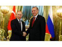 Rusya Devlet Başkanı Putin'den, Cumhurbaşkanı Erdoğan'a Tebrik