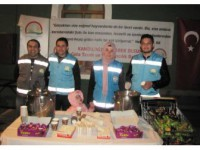 Hisarcık İlçe Gıda Tarım Ve Hayvancılık Müdürlüğünden Sıcak Kandil Sütü