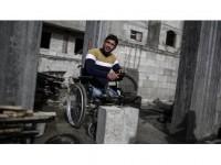 Gazze'de Engellere 'Meydan Okuyan' İnşaat Ustası