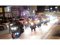 Chopper Motosikletçilerden Kilis'te Şehir Turu