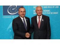 Çavuşoğlu, Avrupa Konseyi Genel Sekreteri Jagland İle Görüştü