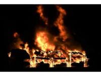 Yangının Boyutu Gün Ağarınca Ortaya Çıktı