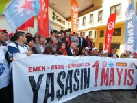 Taksim'de 1 Mayıs Anması gerçekleştirildi