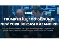 Trump'ın İlk 100 Gününde New York Borsası Kazandırdı