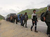 Erzincan'da Bozulan Yolcu Otobüsünde 103 Yabancı Uyruklu Yakalandı