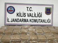 Kilis'te Bir Tır'da 102 Kilo Eroin Ele Geçirildi