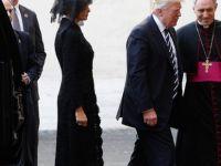 Abd Başkanı Trump Arabistan'ın ardından Vatikan'da