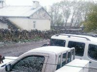 Ardahan'a kar yağdı! Üstelik bu ayda..