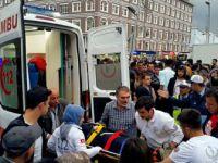Otobüsten İndikten Sonra Tekerine Ayağı Sıkışan Kadın Yaralandı