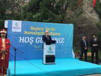 Anadoluhisarı Toplarönü Namazgâhı Mehteranla Açıldı