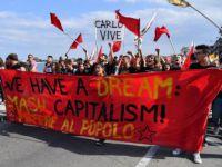 İtalya'daki G7 Zirvesi Protestosuna Polis Müdahalesi