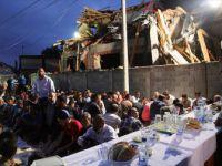 Sırbistan'da Yıkık Mescit İnşaatı Önünde İftar Düzenlendi