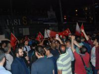 Beyoğlu, Galatasaray Meydanı'nda Katar'a Destek Protestosu
