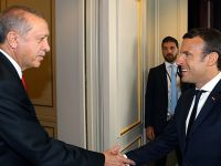 Macron'dan Erdoğan'a teşekkür Açıklaması