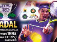 Rafael Nadal, İlk Tenisçi Unvanını Aldı