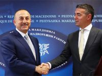 Çavuşoğlu ile Makedonya dışişleri bakanından flaş görüşme!