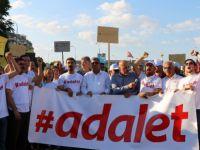 CHP'nin Adalet yürüyüşüne Gaziantep'ten destek geldi!