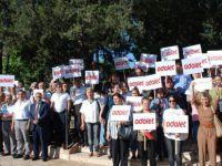 CHP Besni teşkilatı Adalet için durdu!
