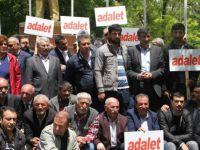 CHP Ardahan örgütünden Adalet yürüyüşüne ilginç destek!