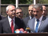 Günlerdir yürüyen Kılıçdaroğlu'ndan Flaş BBP açıklaması