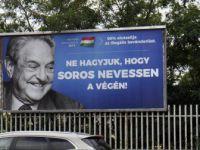 Macaristan'da George Soros Afişli Hükümet Kampanyası