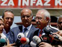Kemal Kılıçdaroğlu, Enis Berberoğlu'nu Ziyaret Etti