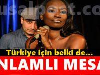 Della Miles'tan Türkiye'ye anlamlı mesaj