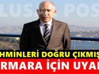Marmara Denizi'nde ki bu belirti deprem habercisi olabilir!