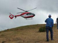 Bafra ilçesinde Yamaç Paraşütü Gösterisinde Kaza