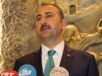 Adalet Bakanı Abdülhamit  Gül'den Sert Mesajlar